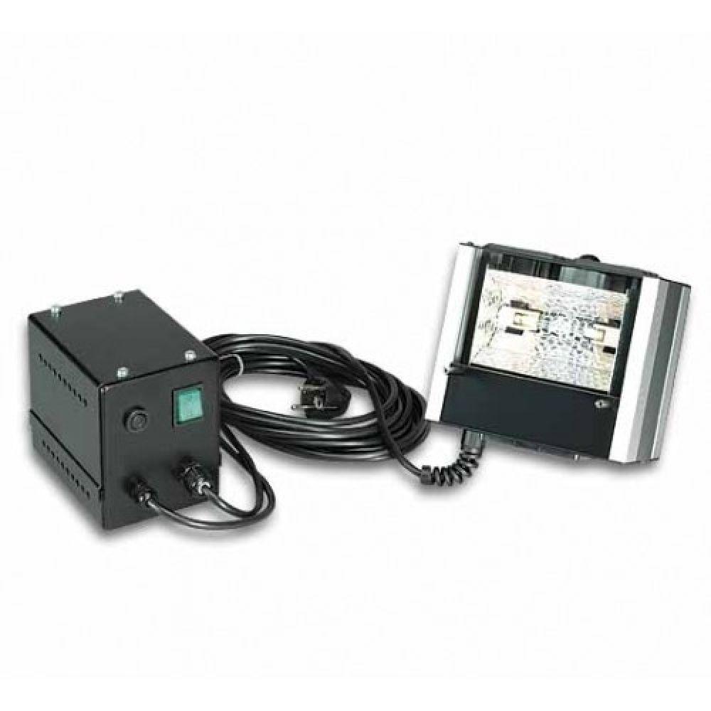 Лампа УФ 100 Ватт (прожектор), защитный фильтр, перчатки, защитные очки