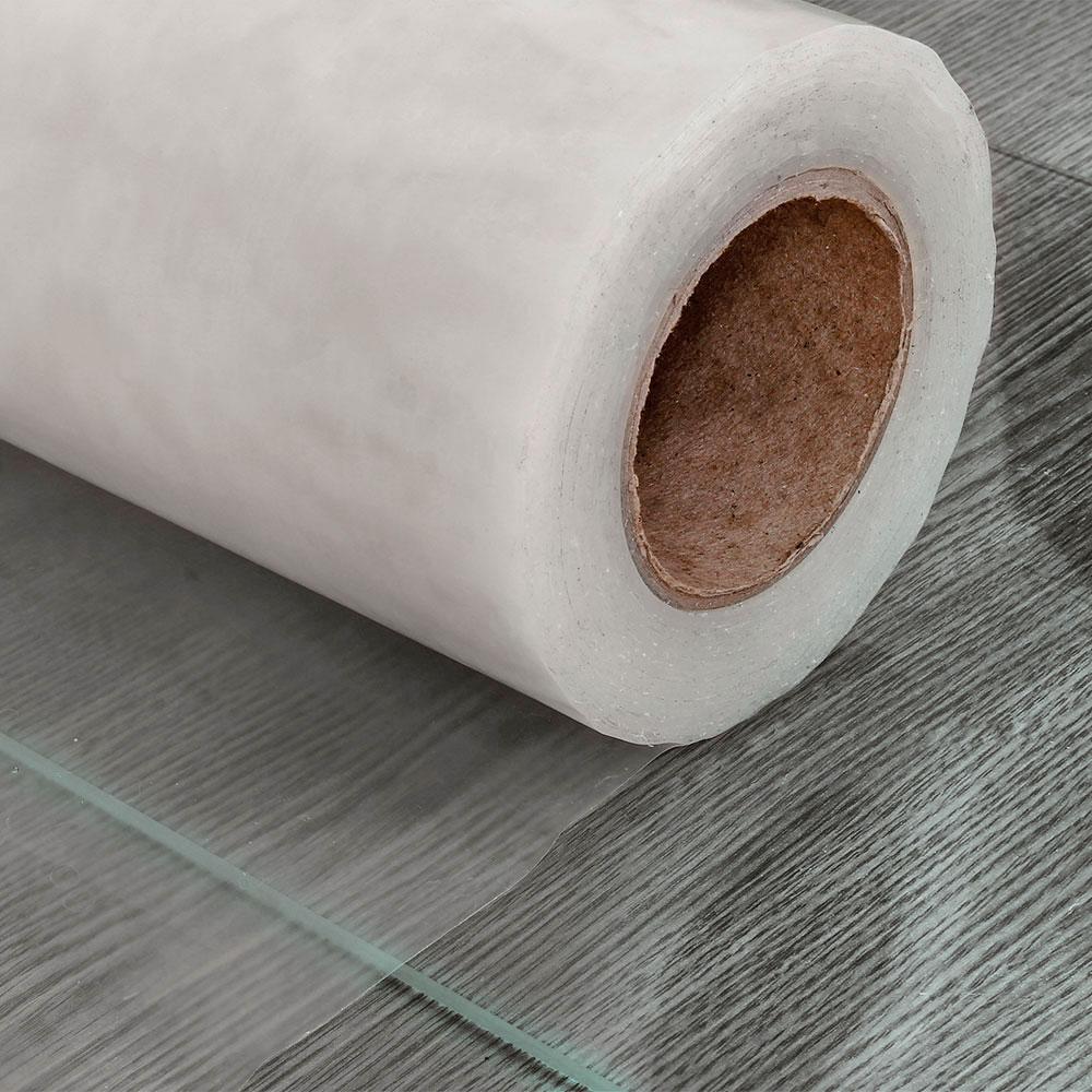 Защитная полиэтиленовая плёнка, ширина 30 см. (прозрачная)
