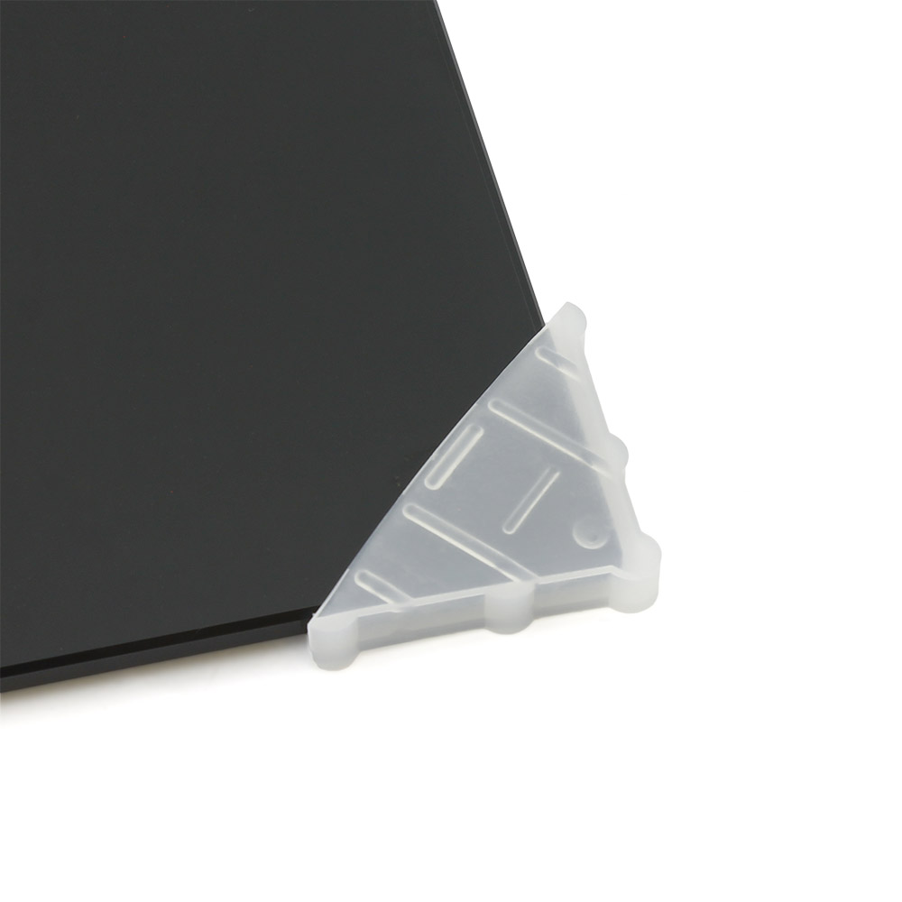 Уголок для защиты углов полотна стекла П5 (для стекла 4-5 mm)
