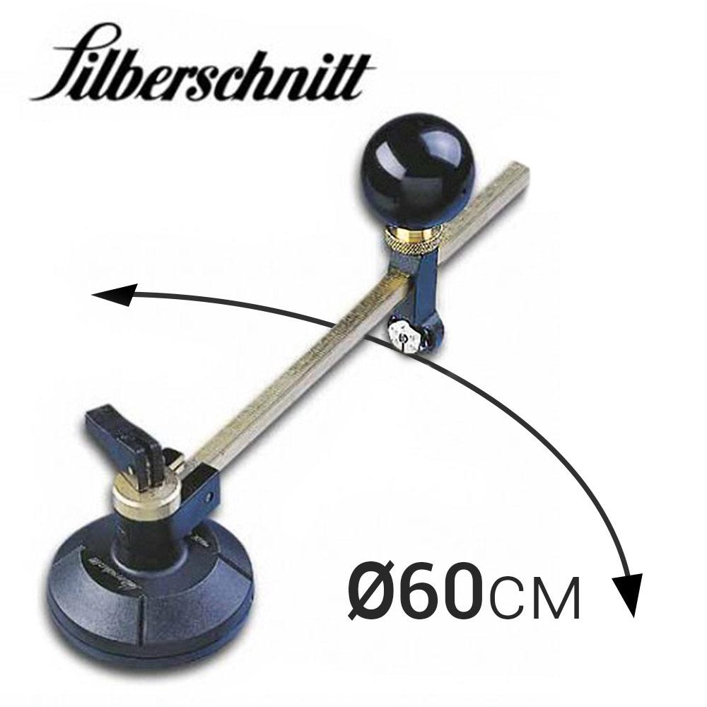 Циркуль «Silberschnitt» для резки стекла (D60 см, 6 рол)