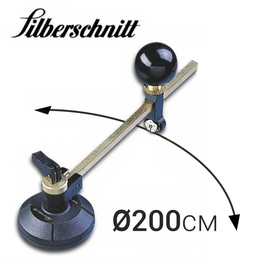 Циркуль «Silberschnitt» для резки стекла (D200 см, 6 рол)