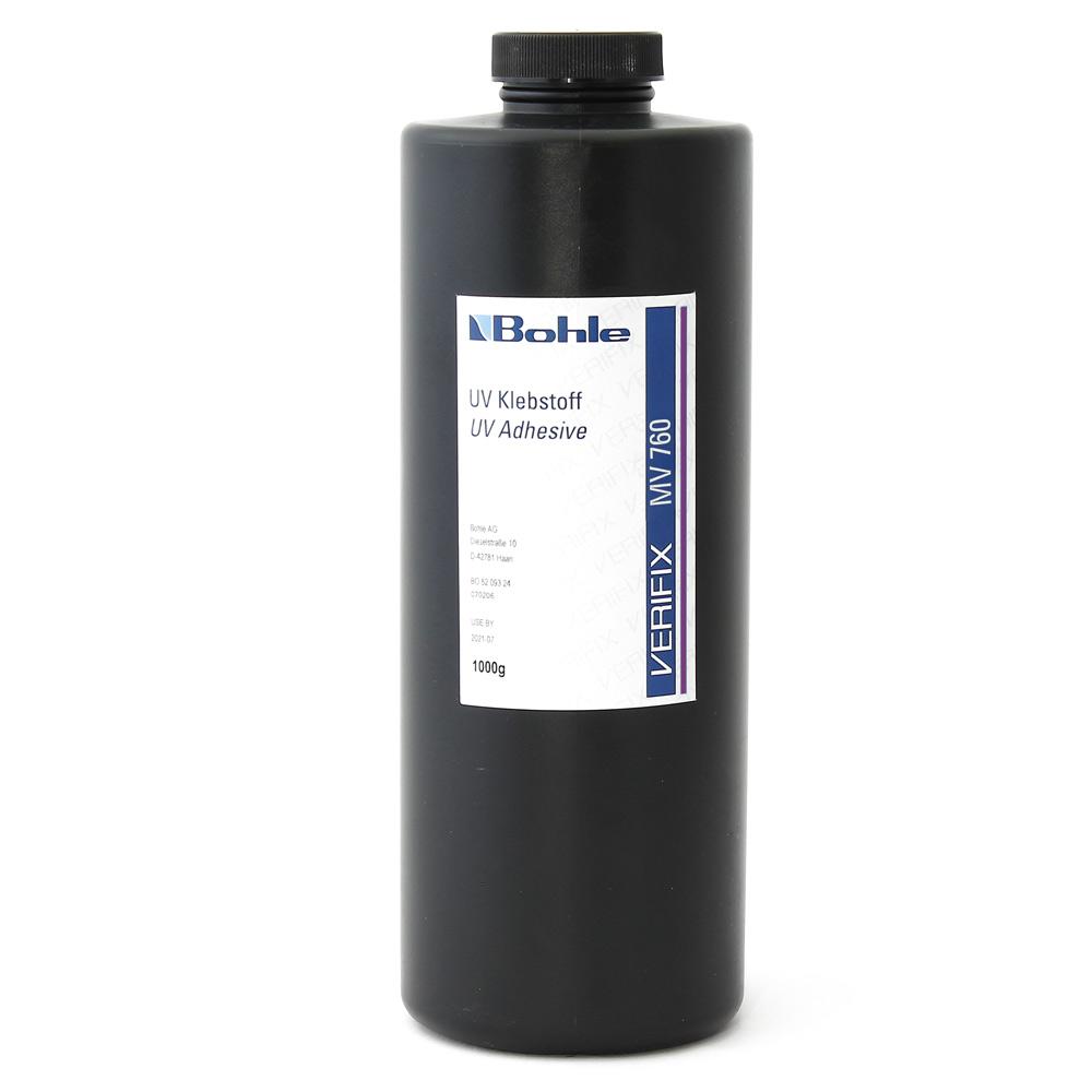 Клей УФ «Verifix» МV 760 (стекло-металл, 1л) влагост., не желтеет