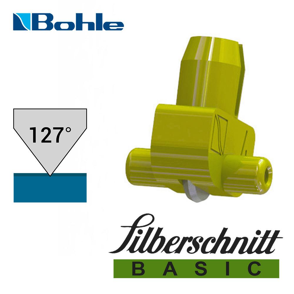 Пластиковый держатель <Silberschnitt> с роликом угла заточки 127° (жёлтый)