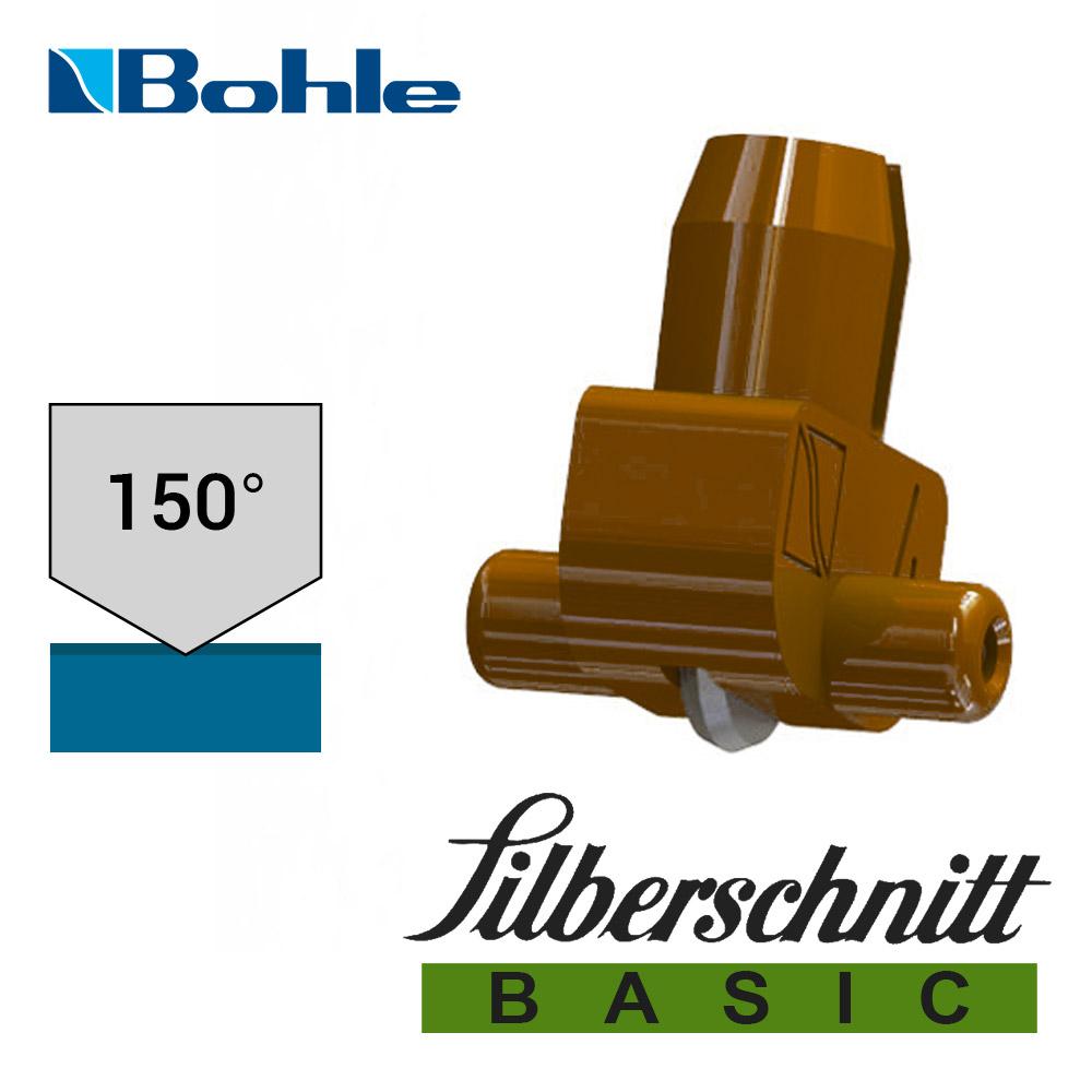 Пластиковый держатель <Silberschnitt> с роликом угла заточки 150° (коричневый)