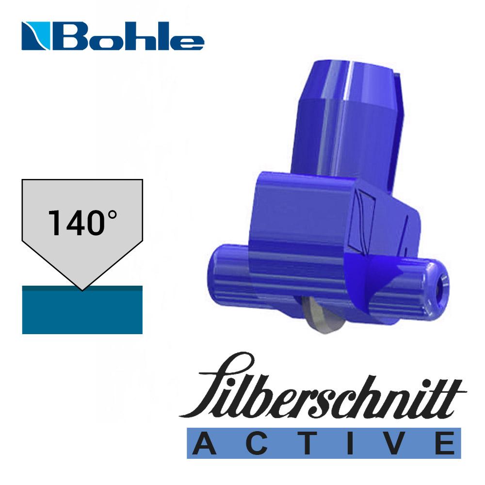 Пластиковый держатель <Silberschnitt> с роликом угла заточки 140° (синий)