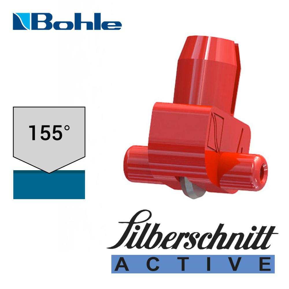 Пластиковый держатель <Silberschnitt> с роликом угла заточки 155° (красный)