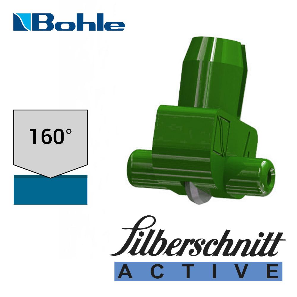 Пластиковый держатель <Silberschnitt> с роликом угла заточки 160° (зелёный)