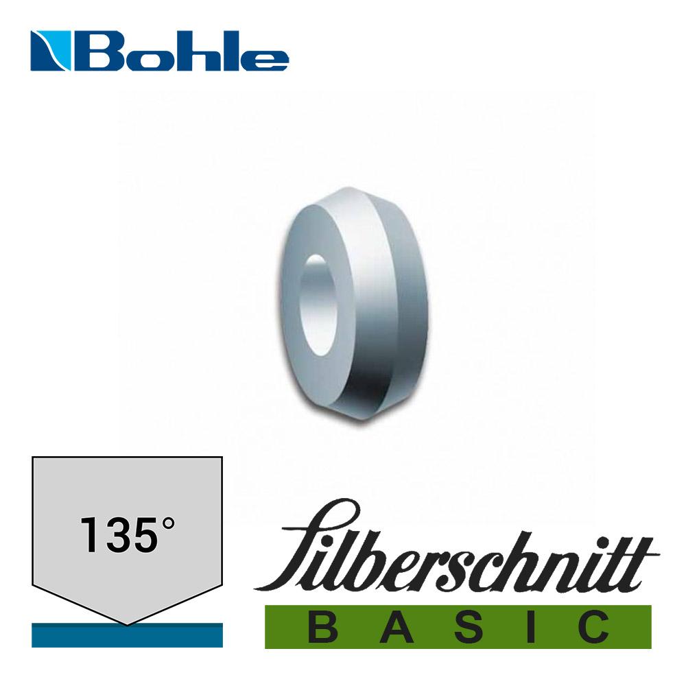 Ролик <Silberschnitt> для автоматизированных столов резки, карбид вольфрама <Basic> (3.0 х 1.0 х 1.3 мм, 135°)
