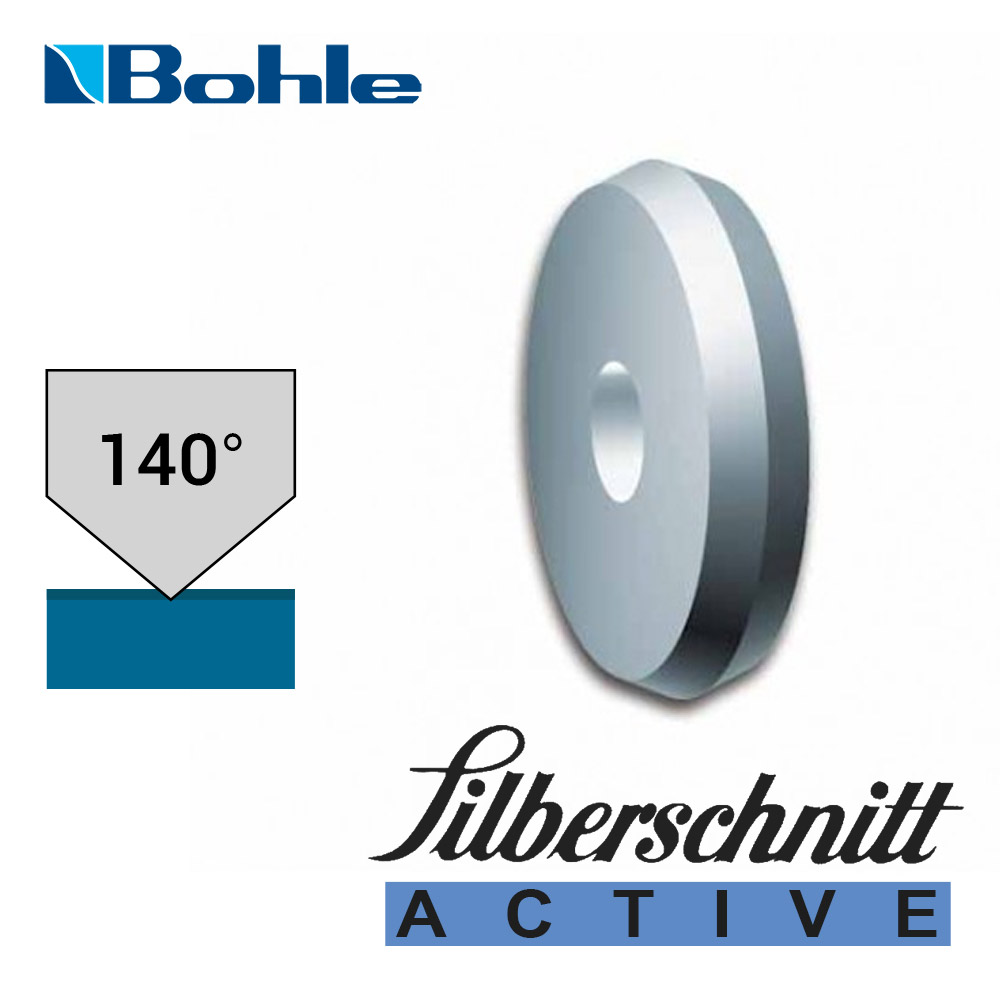 Ролик <Silberschnitt> для автоматизированных столов резки, карбид вольфрама <Active> (5.6 х 1.08 х 1.42 мм, 140°)
