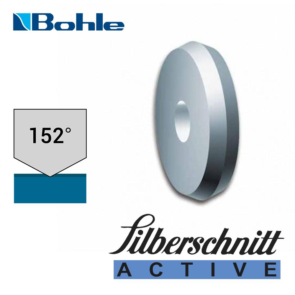Ролик <Silberschnitt> для автоматизированных столов резки, карбид вольфрама <Active> (5.6 х 1.08 х 1.42 мм, 152°)