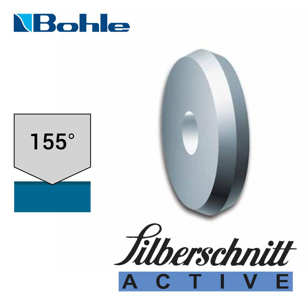 Ролик <Silberschnitt> для автоматизированных столов резки, карбид вольфрама <Active> (5.6 х 1.08 х 1.42 мм, 155°)