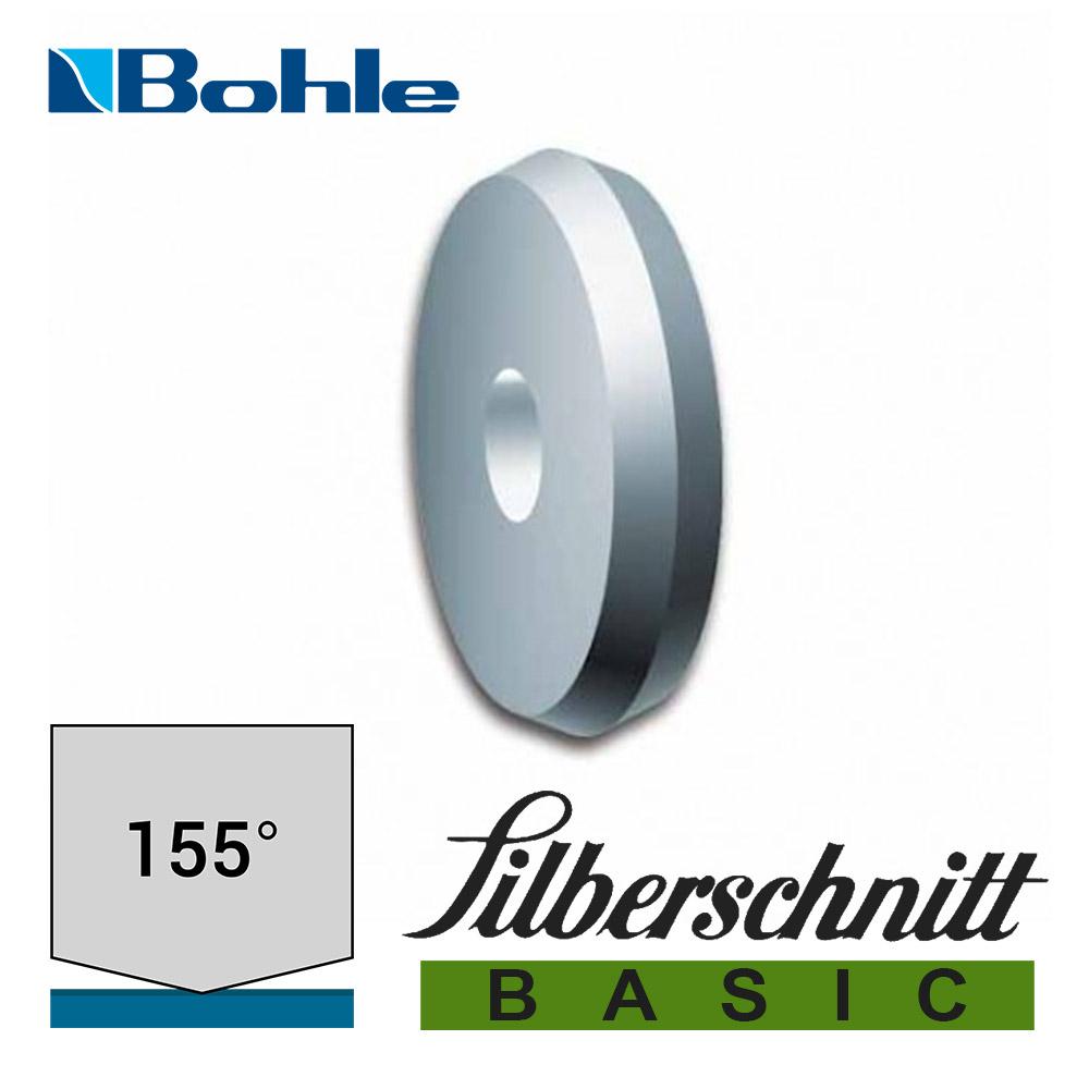 Ролик <Silberschnitt> для автоматизированных столов резки, карбид вольфрама <Basic> (6.0 х 1.14 х 1.55 мм, 155°)