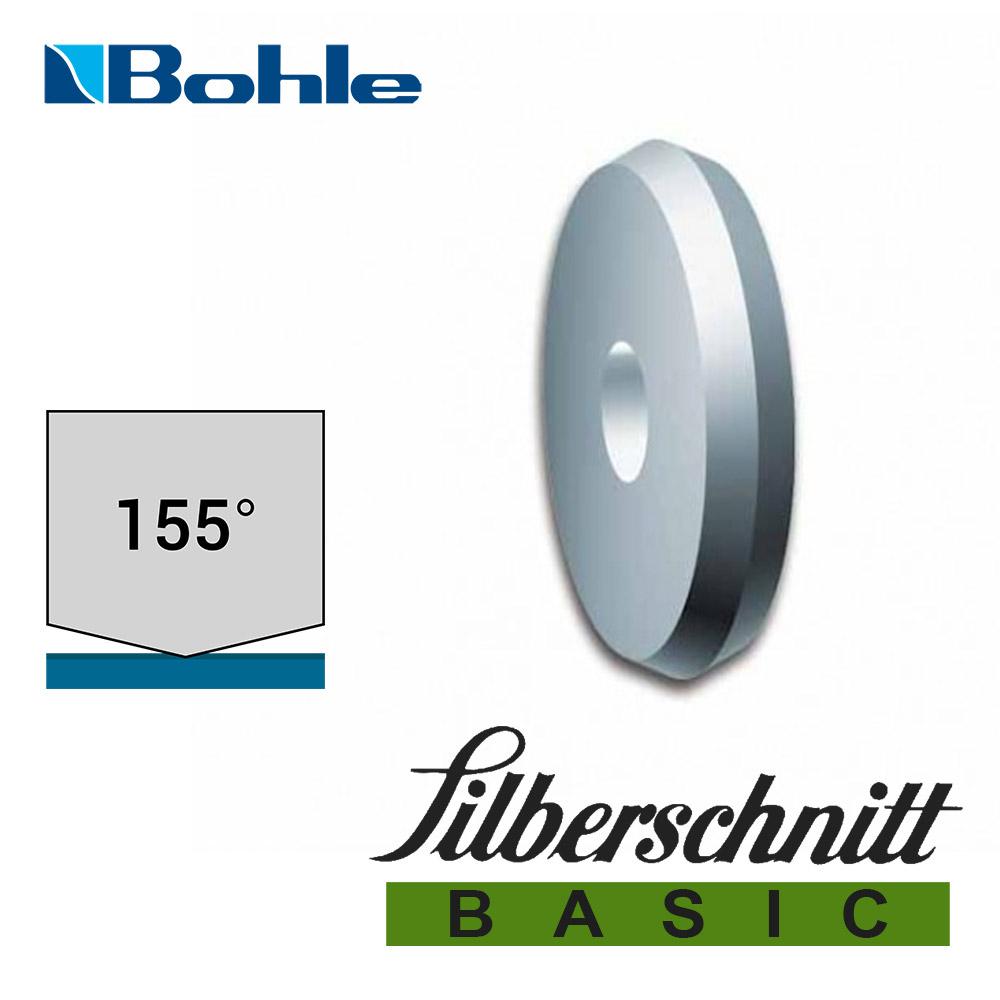 Ролик <Silberschnitt> для автоматизированных столов резки, карбид вольфрама <Basic> (5.6 х 1.08 х 1.42 мм, 155°)