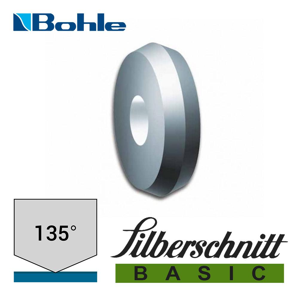 Ролик <Silberschnitt> для автоматизированных столов резки, карбид вольфрама <Basic> (6.0 х 1.14 х 1.55 мм, 135°)