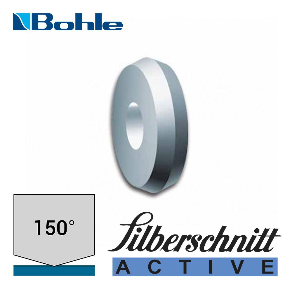 Ролик <Silberschnitt> для автоматизированных столов резки, карбид вольфрама <Active> (4.1 х 1.08 х 1.42 мм, 150°)