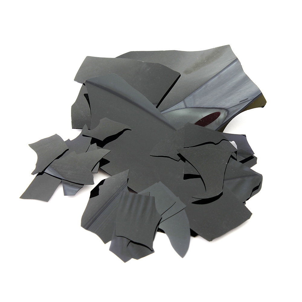 Конфетти черные стеклянные (schwarz)