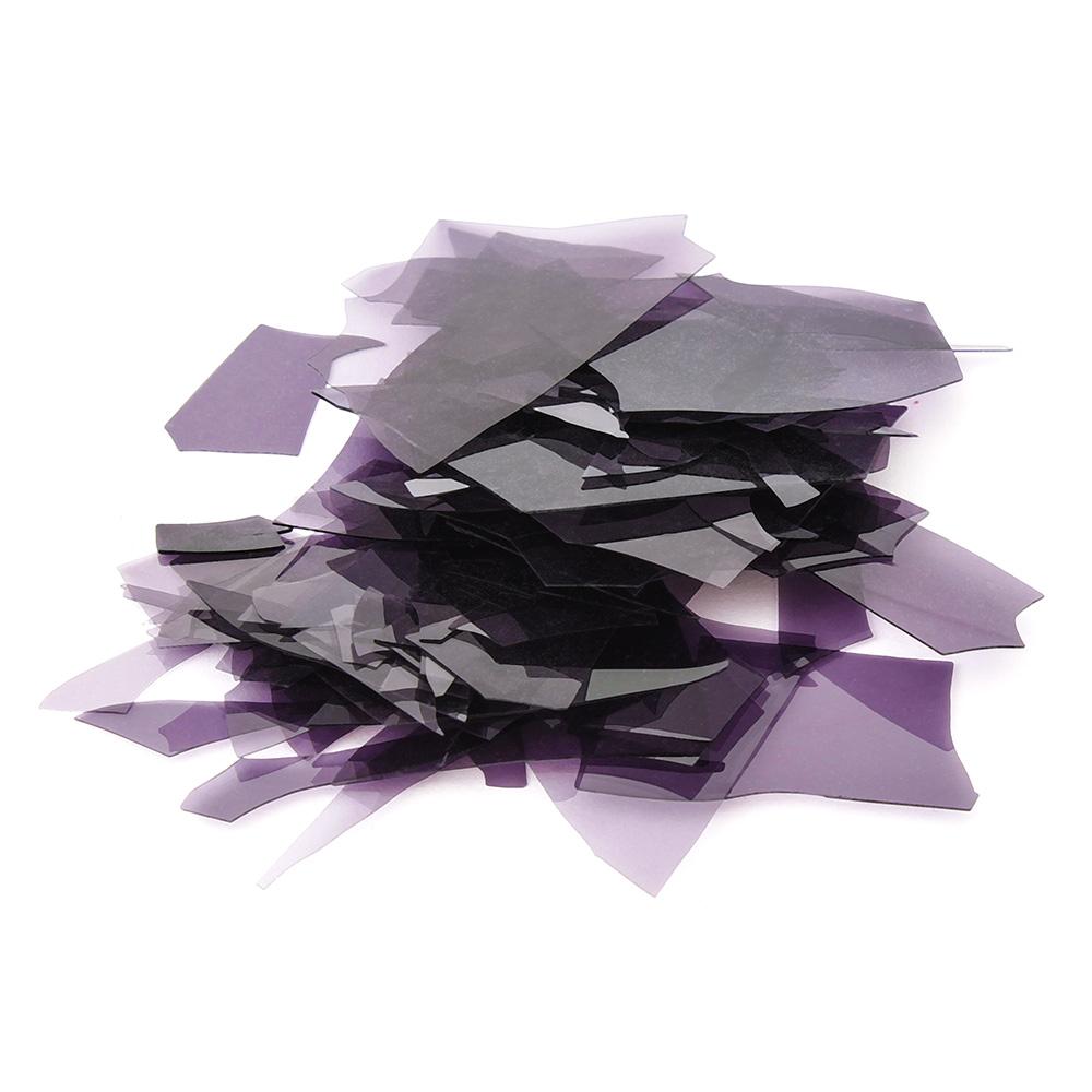 Конфетти стеклянные Темно-фиолетовое