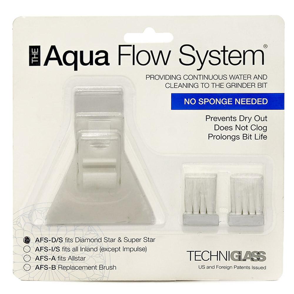 Система подачи воды (Aquaflow AFS-D/S) + 2 щётки в комплекте