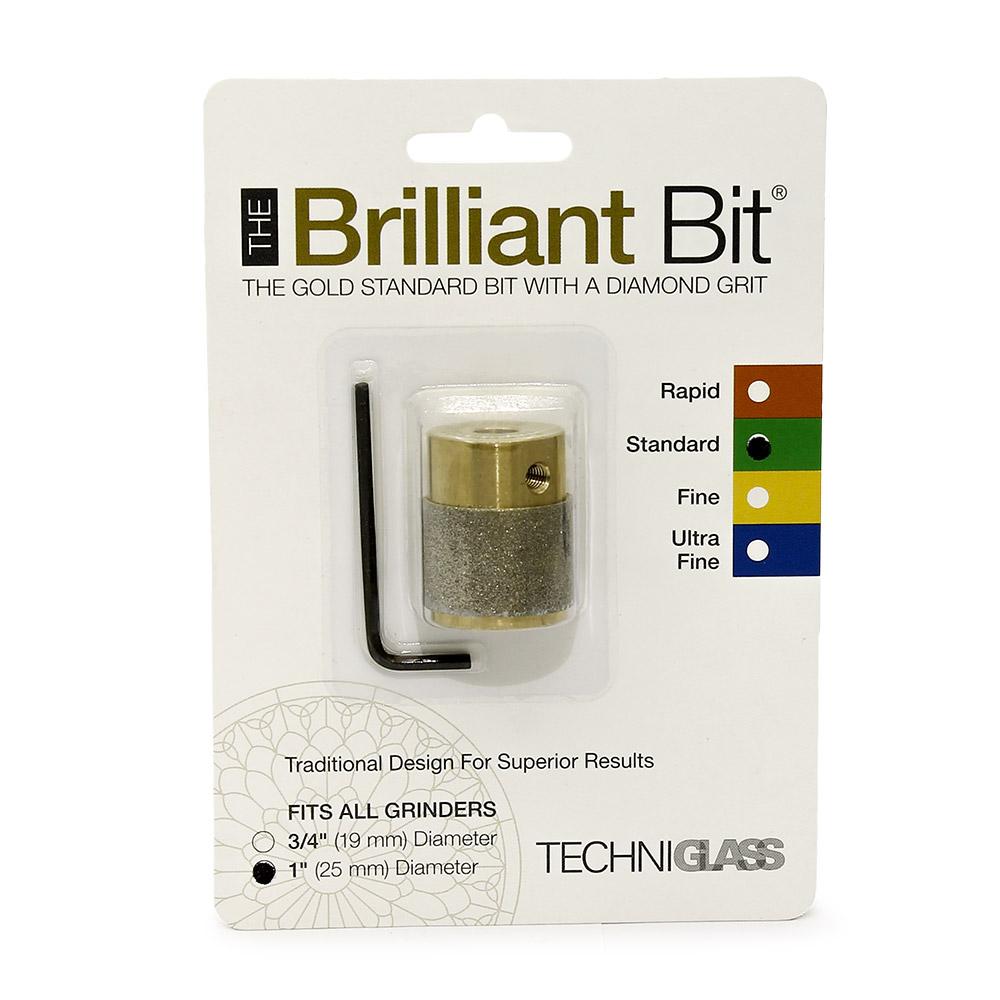 Сменная шлифголовка (D25 мм, стандартное зерно) Techniglass Briliant Bit
