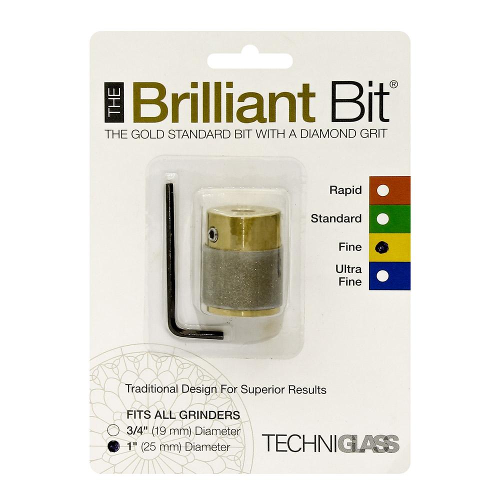 Сменная шлифголовка (D25 мм, тонкое зерно) Techniglass Briliant Bit