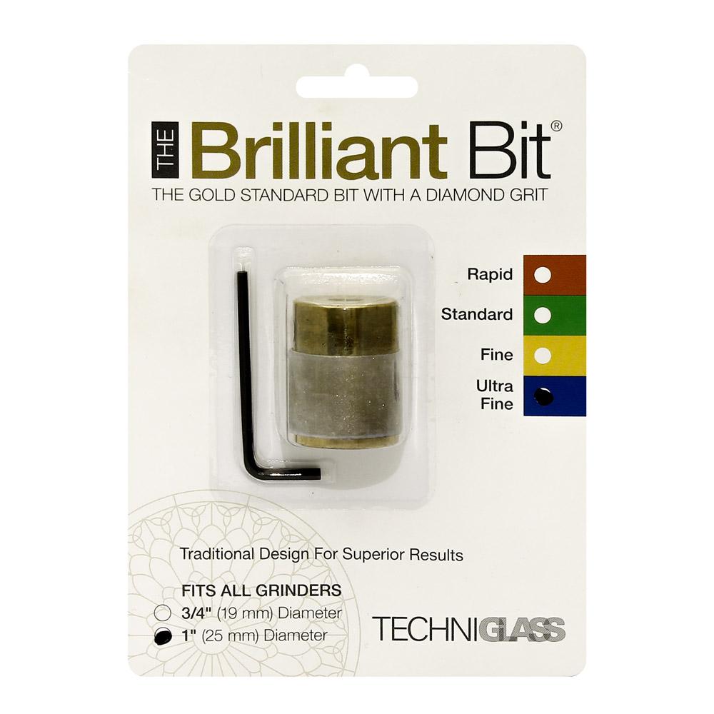 Сменная шлифголовка (D25 мм, очень тонкое зерно) Techniglass Briliant Bit