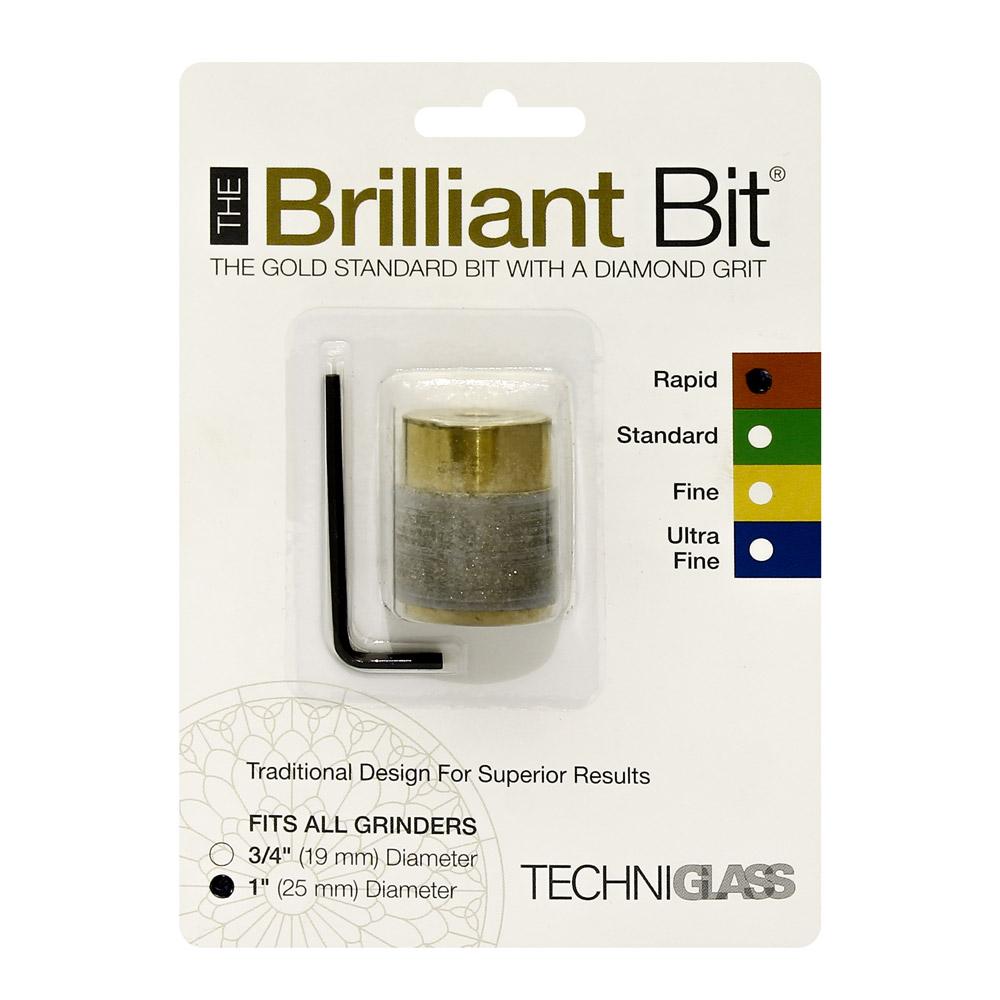 Сменная шлифголовка (D25 мм, крупное зерно) Techniglass Briliant Bit