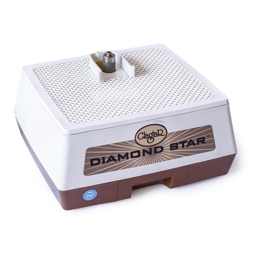"""Шлифовальная машинка """"Glastar Diamond Star G141"""" для обработки художественного стекла."""